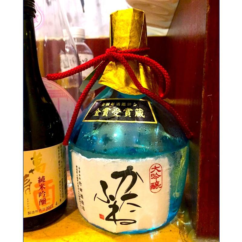 台湾 日本酒試飲会 お客様の心を鷲掴みにしたかたふね 大吟醸