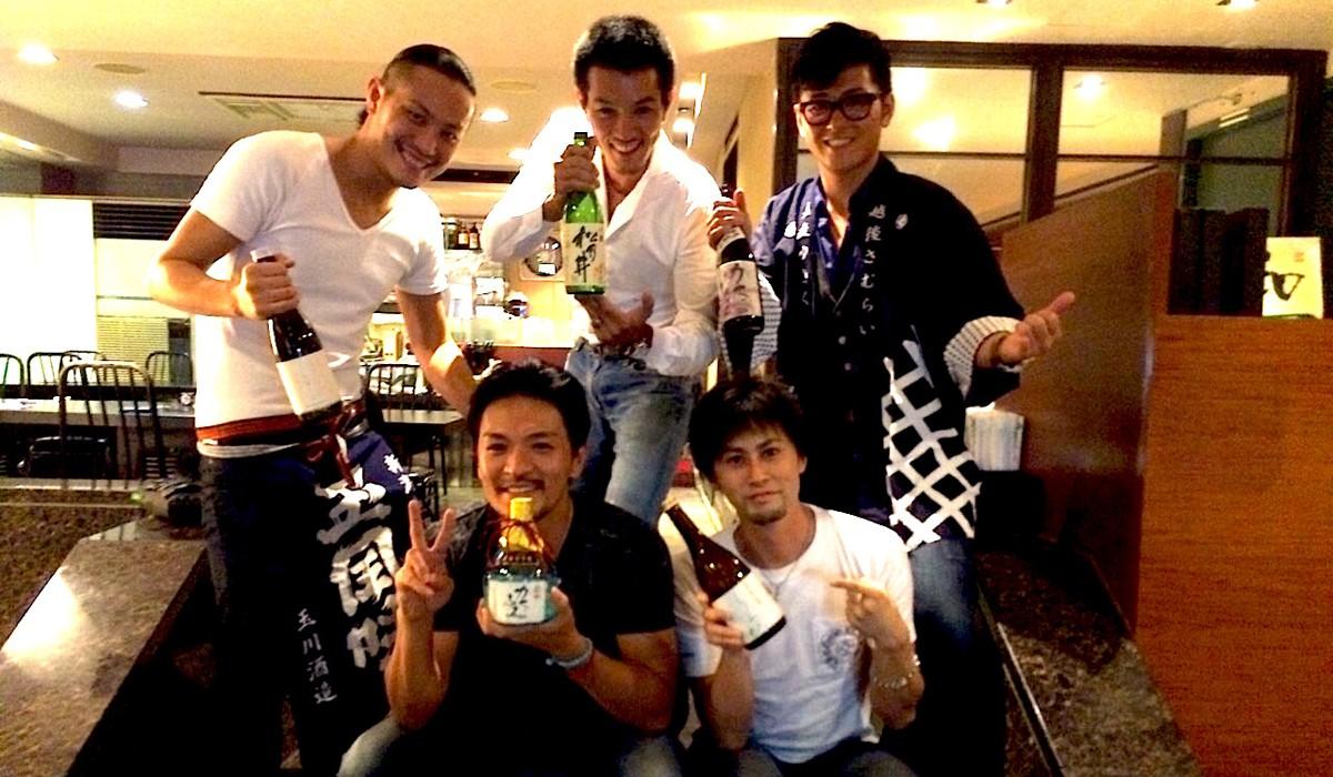 台湾 日本酒試飲会 台湾で大人気の先輩達と