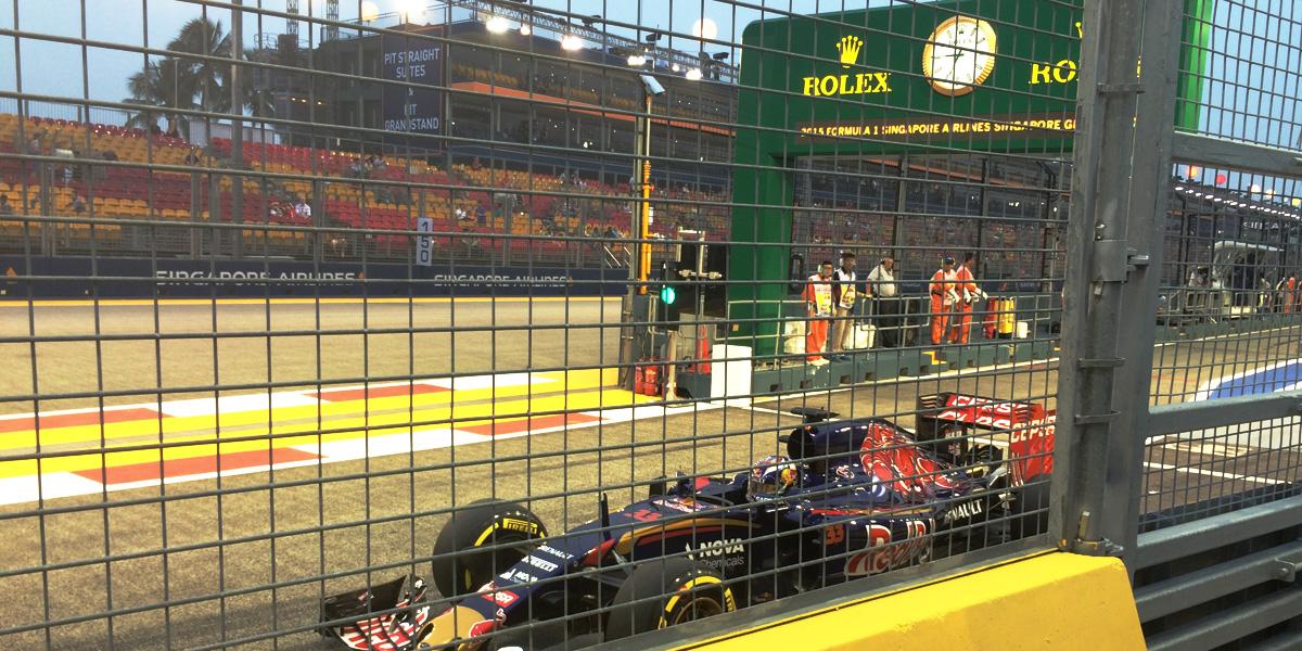 Formula 1 Singapore Grand Prix 2015